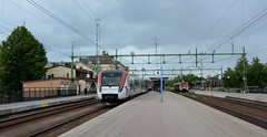 Gvle C 07.07.2015 (The STB) Tags: station train central railway gvle centralstation tg swedishrailways gvlec svenskajrnvg