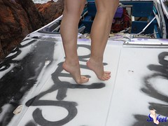 wreck (Sofeet !) Tags: sexy feet female toes arch legs bare shipwreck sofeet