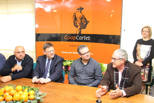 Visita Ximo Puig CoopCarlet (13-12-2015)