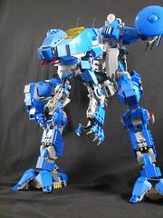 Standing on its own 2 (donuts_ftw) Tags: lego space luna mecha mech metalgear metalgearrex metalgearluna
