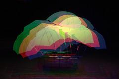 rgb (rothlisbergerthomas) Tags: kunst installation schirme schirm lichtinstallation kunstinstallation