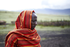 Maasai tribesman. (ivoMRmachadoo) Tags: africa people tanzania fuji fujifilm tribe masai maasai vilage ngorogoro xt10