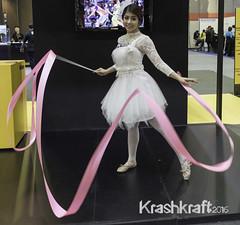 Ribbon | Test Camera | Nikon D750 (krashkraft) Tags: beautiful beauty thailand foxy pretty bangkok gorgeous gymnast ribbon lovely th goodlooking allrightsreserved 2014 boothbabe photofair testcamera krashkraft    nikond750