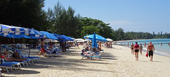 AuThong throngs (chericbaker) Tags: beach sunbeds authong
