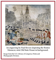 Boston Massacre by Paul Revere (State Library of Massachusetts) Tags: oldstatehouse bostonmassachusetts massachusettsstatehouse massachusettslegislature