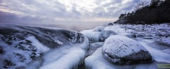 Slippery Slope of Rocks (StudioFenkoli.fi) Tags: ocean winter sea sun cold beautiful suomi finland photography freeze icy talvi porvoo thisisfinland visitfinland visitporvoo studiofenkolifi studiofenkoli