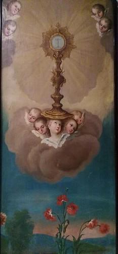 Alegoría del Santísimo Sacramento, Museo de Arte Sacro, Lagos de Moreno, Jal.