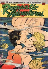 Romantic Adventures 24 (Michael Vance1) Tags: woman man art love comics kiss artist marriage romance lovers dating comicbooks relationships cartoonist anthology silverage