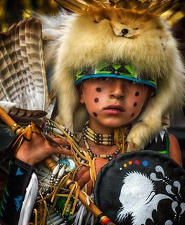 Young Native American Dancer II