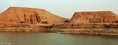 Templos de Abu Simbel (Luis Bermejo Espin) Tags: travel oasis templos desierto egipto momias nilo faraones faran desiertos lagonasser antiguoegipto rionilo egiptologa antiguascivilizaciones luisbermejoespn absimbel