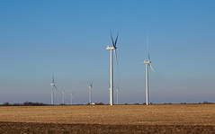 Wind Generators in Oklahoma (cdw21) Tags: life road oklahoma outside highway wind scenic generators traveling