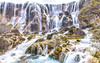 Jiuzhaigou - Pearl Shoal Waterfall 2 (Sarmu) Tags: china wallpaper nature water landscape waterfall highresolution view outdoor widescreen unesco worldheritagesite 1600 highdefinition resolution 1200 aba hd wallpapers 中国 sichuan 九寨沟 jiuzhaigou 1920 ws 1080 1050 720p 四川 1080p 2015 1680 720 digitalblending 2560 阿坝 珍珠滩 sarmu