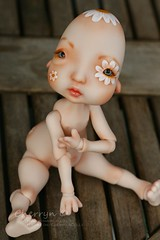 Faceup and Body Blushing for Janulik - Nefer Kane Dolls Humpty Dumpty (Cherryn&Dolls) Tags: bjd kane humpty dumpty faceup nefer