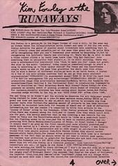 Kim Fowley / The Runaways (stillunusual) Tags: punk punkrock 1970s 1977 pattismith whitestuff newwave runaways fanzine kimfowley punkzine therunaways sandyrobertson punkfanzine
