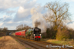 GCR-WINTER-GALA-69 (Steven Reid - Reid Photographic) Tags: railroad heritage train vintage pacific smoke engine railway steam locomotive sr steamengine southernrailway steamlocomotive 2016 greatcentralrailway gcr 462 bulleid battleofbritainclass wintergala 34053 heritagerailways rebuiltbattleofbritain