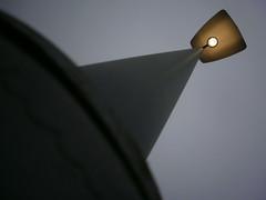 The LED that shines (DavidCooperOrton) Tags: lamp streetlight streetfurniture lampshade lightreflector day35366 366the2016edition 3662016 4feb16