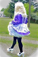 Maid strolling (jensatin4242) Tags: sissy transvestite maid crossdresser petticoat sissymaid jensatin