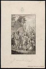 El amante liberal (Biblioteca Nacional de Espaa) Tags: y dibujos cervantes paret literatura alczar novelas ejemplares 400cervantes