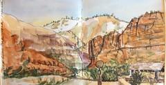 160126 Big Bend Zion National Park, Utah (eleanorsegal) Tags: landscape zion nationalparks