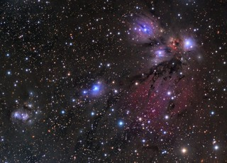 NGC2170 - a wild mix of nebulosity in Monoceros