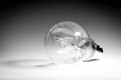 Light Bulb (MacBeales) Tags: light white black bulb canon eos 350d