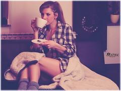 Shooting with Stef - Coffeetime_3 (humanvtec) Tags: girls portrait bw sexy feet coffee fashion vintage naked deutschland nice model erotic kaffee lingerie retro bikini redlips shooting bunnys dessous longlegs halfnaked bh erotik unterwsche teilakt smokinggirls elitegirls hschen candidgirls jungefrauen deutschemdels homeshooting holzfllerhemd like4like instafoto sexygirs gntm2016 jungemdels