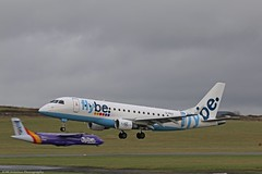 Flybe Embraer E175 G-FBJI at Isle of Man EGNS 04/02/16 (IOM Aviation Photography) Tags: man isle embraer 040216 flybe e175 egns gfbji
