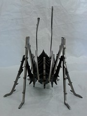 Grille_Stahl_008 (KienerAndreas) Tags: sculpture art metal 3d stainlesssteel steel kunst welding skulptur puzzle laser metall cnc aluminium stahl 3dpuzzle metalsheet lasercutting schweisen