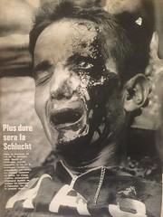 Aurelio Gonzals, casualty on the Col de la Schlucht in the 1969 Tour de France (ddsiple) Tags: 1969 cycling spain crash spill aureliogonzlezpuente aureliogonzals