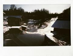 image (Bergolli) Tags: analog finland landscape polaroid falls retro maisema darkphoto filmphotography filmi orimattila fujifilminstax tnn tnnnsilta widefujiinstax210 analooginen pikafilmi