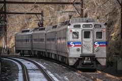 Final Stretch (Nick Gagliardi) Tags: railroad electric train hill trains east v chestnut septa mu iv spax silverliner