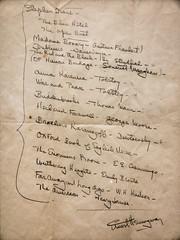 Hemingway's Required Reading (David F. Panno) Tags: usa newyork manhattan sony morganlibrary dscrx100 28100mmf1849 hemingwaysrequiredreading