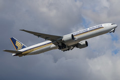Singapore Airlines Boeing 777 9V-SWA (j.borras) Tags: barcelona airplane singapore bcn boeing airlines takeoff 777 runway sia spotting departing 9vswa lebl