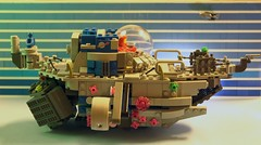 space sub (OlleMoquist) Tags: classic canon toy underwater lego space bricks submarine spaceship custom moc toyphotography legobricks classicspace legoclassicspace teamcanon neoclassicspace legophotography