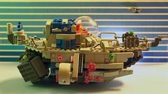 space sub (OlleMoquist) Tags: classic canon toy underwater lego space bricks submarine spaceship custom moc toyphotography legobricks classicspace legoclassicspace teamcanon neoclassicspace legophotography