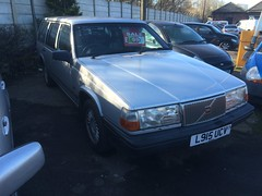 So tempted!!!!! (Sam Tait) Tags: england classic yard silver for volvo cool estate diesel sale albert retro turbo scrap gel derby 945 looms 940