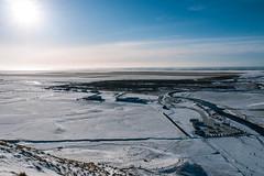 1683 (cristianachivarria) Tags: winter sky snow landscape iceland sunnyday skogafoss skogar projectweather