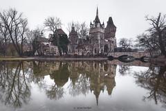 Vajdahunyad Castle (Irene Becker) Tags: hungary budapest vajdahunyadcastle vajdahunyadvra igncalpr cityparkbudapest irenebecker