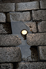 rain's consequences - Novembre 13 088low (luca19632 - Luca Cortese) Tags: urban milano riflessi pioggia lampione sera riflesso pozza pozzanghera granito lastricato illuminazionepubblica illuminazionestradale