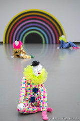 Ugo Rondinone Vocabulary of Solitude 6. (PvRFotografie) Tags: holland museum 50mm clown nederland clowns nex boijmansvanbeuningen ugorondinone minoltamdrokkor50mmf14 sonynex nex6 vocabularyofsolitude