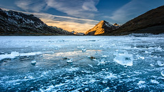 Ice on Bernina Pass