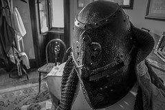 """Dunster Castle in Black and white • <a style=""""font-size:0.8em;"""" href=""""http://www.flickr.com/photos/32236014@N07/25534664562/"""" target=""""_blank"""">View on Flickr</a>"""