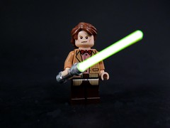 11thTime Jedi (MrKjito) Tags: light star lego time who sonic lord doctor saber jedi wars minifig screwdriver crossover