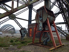 Big Hook Little Hook.... (smokey pipes) Tags: riverclyde clyde crane glasgow block hook tackle shackle finnieston