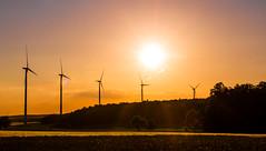 Windräder-2.jpg (Setekh81) Tags: sonnenuntergang windrad unterfanken