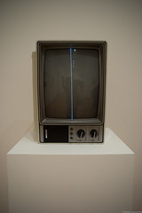 From the Collection: 1960–1969. MoMA, NYC. (setpower1) Tags: nyc newyorkcity art museum moma museumofmodernart 1960s namjunepaik minolta28mmf35mcwrokkorsg