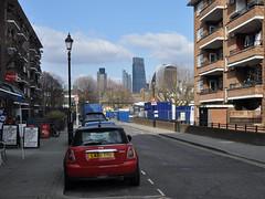 City skyline from Redcross Way (stevekeiretsu) Tags: london skyline tower42 cityoflondon herontower 20fs 122lh
