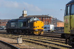 Now ex-DRS Class 37/6 no 37608 waits at Derby Station on 14-03-2016 before departing for Crewe light engine (kevaruka) Tags: uk greatbritain winter england sun color colour heritage history colors sunshine station weather composition train canon eos march flickr colours unitedkingdom derbyshire sunny trains historic explore trainstation gb 5d locomotive frontpage derby freight britishrail sunnyday freighttrain eosdigital 2016 drs colas networkrail class37 derbystation class56 37608 56113 directrailservices canon5dmk3 5dmk3 5d3 eos5dmk3 5diii thephotographyblog canon70200f28ismk2 canoneos5dmk3 ukrl 14032016