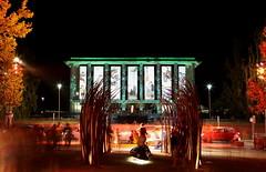 Enlighten 2016 - National Library - Lifestyle (Daddy_Jay) Tags: longexposure building art night australia projection canberra act enlighten 2016 nationallibraryofaustralia canonef24105mmf4lisusm canon7dmkii canon7dmarkii canon7dmark2