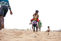 (Kals Pics) Tags: life people india boys kids children fun play funtime culture happiness games tradition playtime marinabeach chennai tamilnadu roi santhome cwc mylapore triplicane thiruvallikeni tiruvallikeni singarachennai rootsofindia kalspics pachaikudhirai culturalindia chennaiweelendclickers nochikuppam fabulouschennai krishnampet